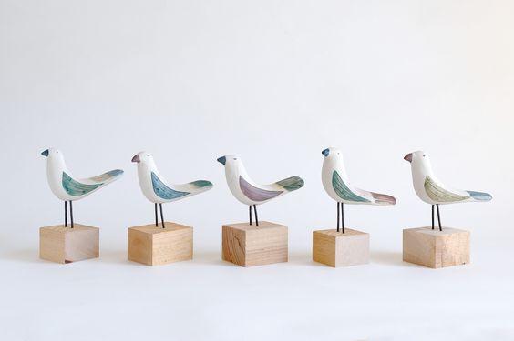 鳥の置きもの kusafune.com / kusfune.jp