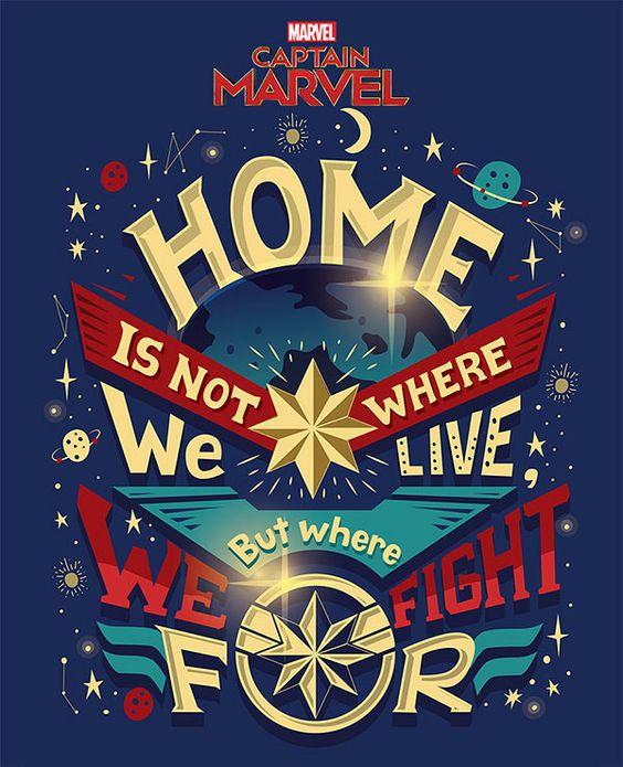 Citation film : Captain Marvel