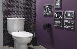 Toilettes glamour 300x192 d corer ses wc de fa on originale d co industriel - Decorer ses toilettes de facon originale ...