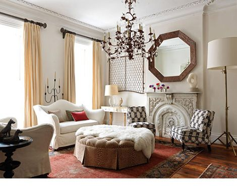 Living Room Peach And Red On White Scheme Fab Furnishings Pinterest Katie O 39 Malley