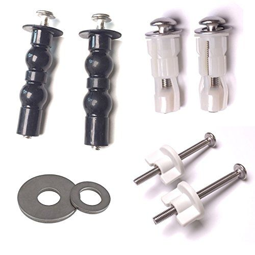 Discounted Hibbent Toilet Mounting Bolts 3 Various Choice Toilet Seat Hinges For Your Bathroom Toilet Seats Ins Toilet Seat Hinges Toilet Seat Replace Toilet
