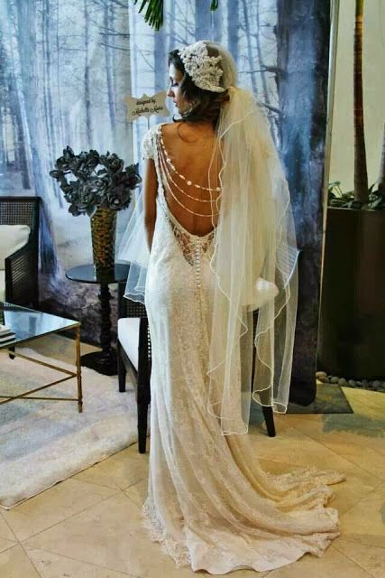 The Great Gatsby gown designed by Michelle Marie..   wedding dresses