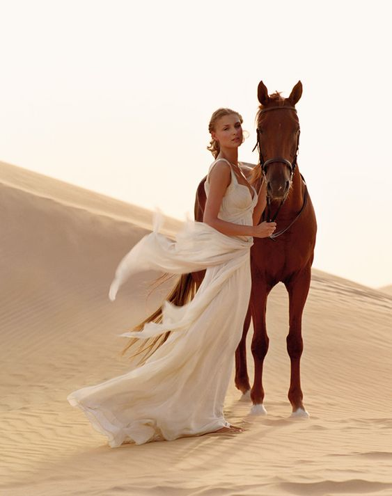 now where to get a horse in the desert?