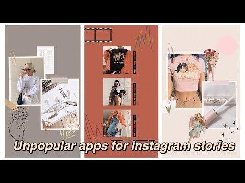 5 Unpopular Apps For Instagram Stories Aesthetic Youtube Instagram Apps Aesthetic Editing Apps Instagram Story