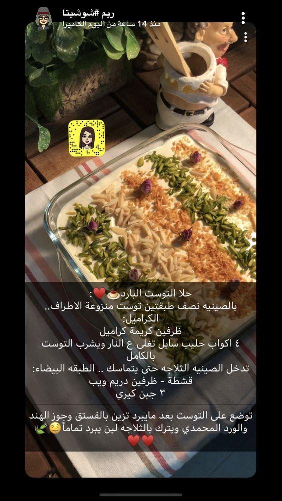 Pin By Mohammed On طرق الحلى او الأكل Cafe Food Recipes Save Food