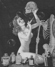 vintage halloween pin-ups - Google Search