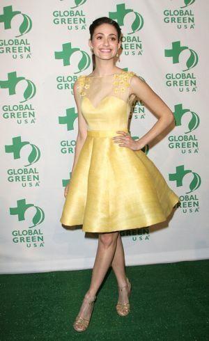 Emmy Rossum Global Green USA 9th Annual Pre-Oscar Party Hollywood Feb 2012