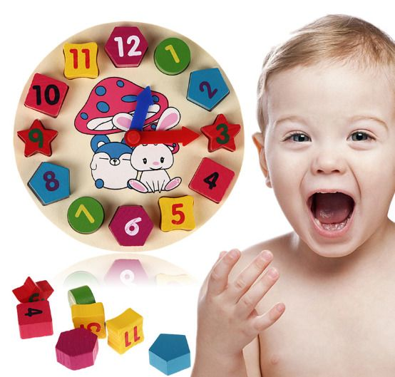 Wooden number puzzle Preschool educational toys numbers Wooden Toys Baby gift Montessori puzzle Educational Wooden baby gift Toddler Toys Baby toys
