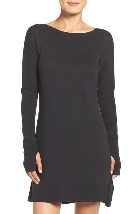 UGG® 'Liliana' Long Sleeve Cotton Nightgown