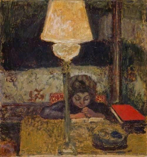 Pierre Bonnard , The Oil Lamp, 1898-1900