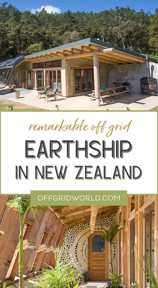 Discover A Remarkable Earthship Home In New Zealand Off Grid World In 2020 Earthship Home Earthship Sustainable Home