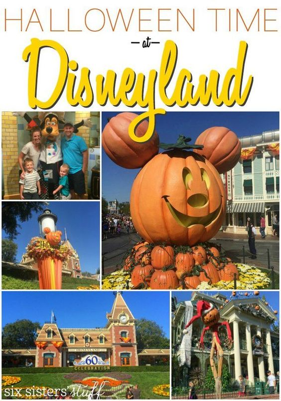 Halloween Time at Disneyland on SixSistersStuff.com | Christmas at Disneyland is magical, but at Halloween the weather is perfect and the holiday crowds haven't quite shown up yet! Here's why you should take a family vacation to Disneyland at Halloween.