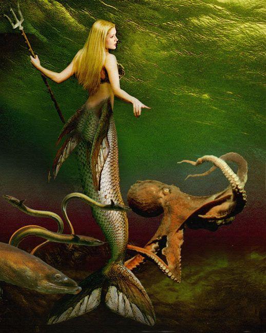 Greek Mythology Creatures Mermaids