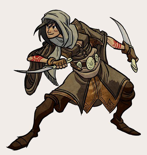 Assassino: Lady assassin by ~javawombat on deviantART