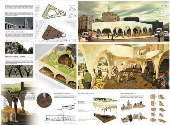 [A3N] : Sustainable Market Square Competition Winner ( Casablanca) / ( Honorable Mention 03 ) Arthur Leung, Darryl Dy, Sandy Wang (Country: Canada)