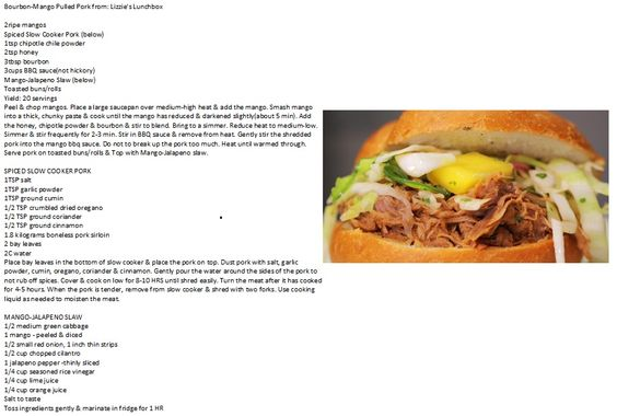 Pulled pork recipes, Pork recipes and Pulled pork on Pinterest