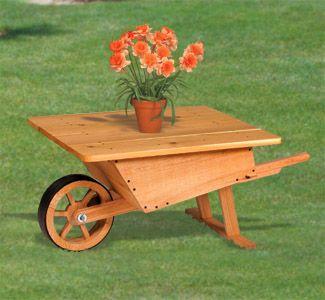 Beautiful Old Wood Wheelbarrow Plans  DIY  Wood  Wheelbarrow