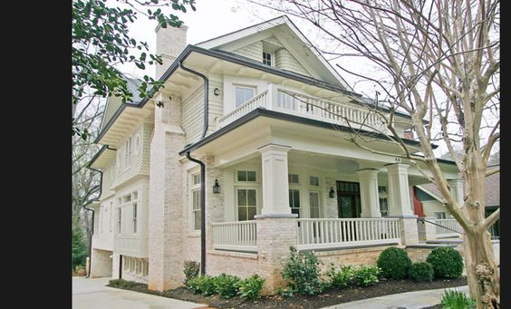Atlanta craftsman and craftsman style on pinterest for Atlanta craftsman homes