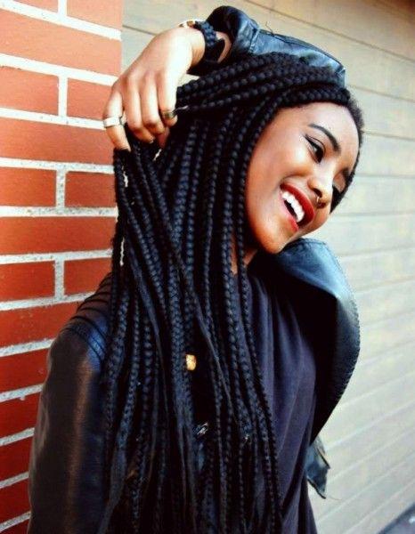 Coiffure cheveux afro nattes 2015 - Coiffures afro : les filles stylées donnent le ton - Elle