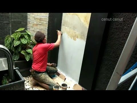 Empat Cara Membuat Motif Cat Dinding Tembok Hasilnya Mantul Youtube Dinding Empati