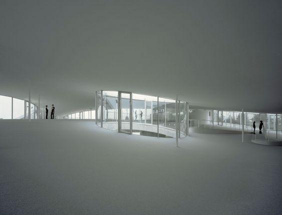 Rolex Learning Center / SANAA.... Interior!