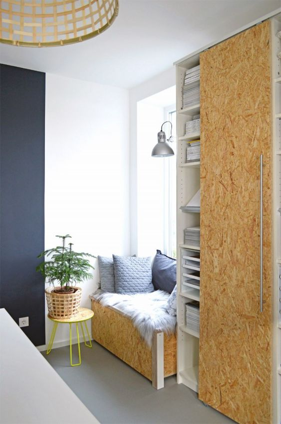 diy schiebet ren selber machen ikea hack billy 3 ikea hacks pinterest nooks och. Black Bedroom Furniture Sets. Home Design Ideas