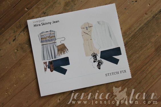 Liverpool Mira Skinny Jean | JessicaFawn.com   #StitchFix