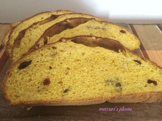Mayuri's Jikoni: 587. Italian Pumpkin Bread (Pane di Zucca)#Breadbakers