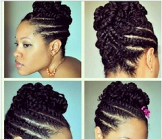 Awesome 1000 Images About Natural Hairstyles On Pinterest Locs Cornrow Short Hairstyles For Black Women Fulllsitofus