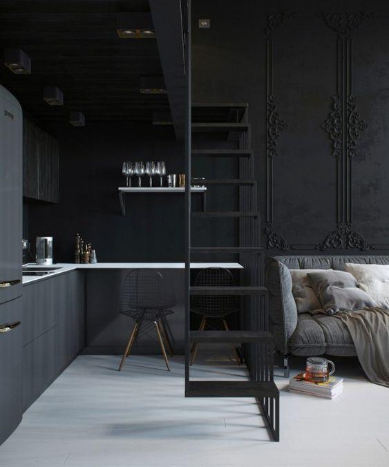 2 Apartments Under 30 Square Metre â One Light, One Dark