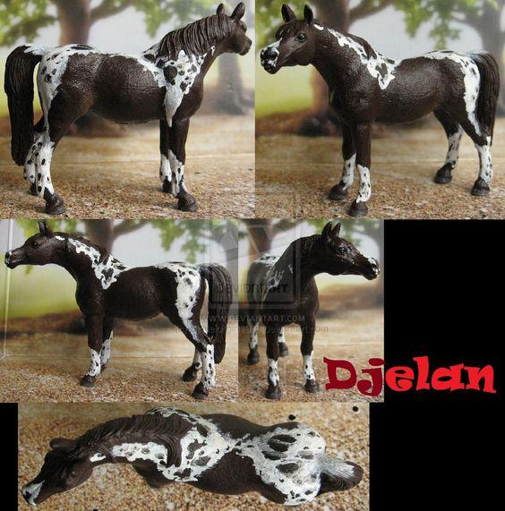 Repaint Schleich Arabian mare by Schleichgirl1976.deviantart.com on @DeviantArt