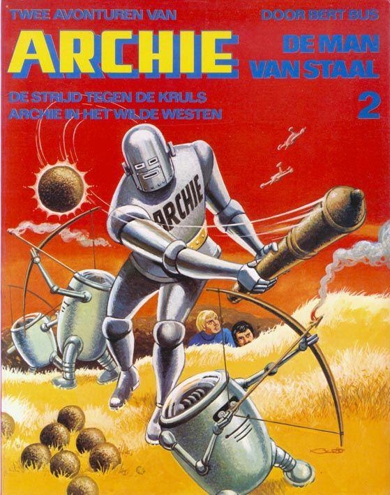 COMIC BITS ONLINE: Archie -de Man van Staal, or, Robot Archie Goes Du...