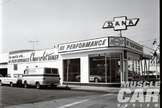 Chevrolet Dealership Black And White Photos