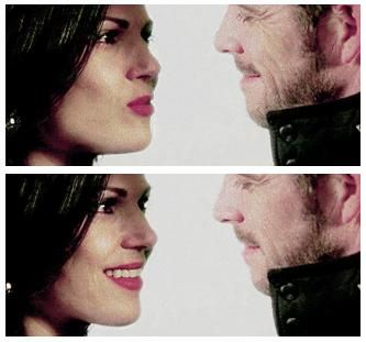 Regina and Robin Hood. Once Upon A Time.