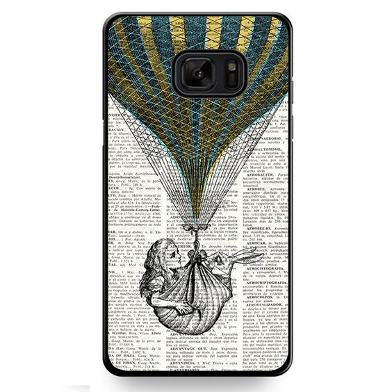 Alice In Wonderland Book TATUM-509 Samsung Phonecase Cover For Samsung Galaxy Note 7