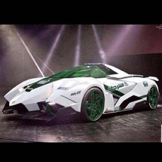 Hot or Not? -Lamborghini Ecoista Concept fighter jet inspired!