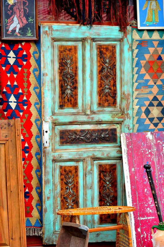 モロッコインテリア 玄関 パネル イメージ
