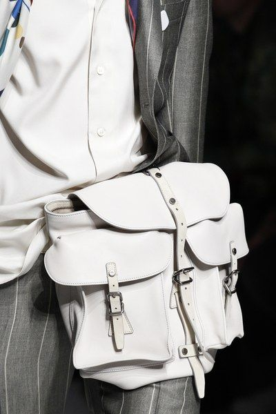 See detail photos for Salvatore Ferragamo Spring 2017 Menswear collection.