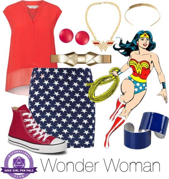 Everyday Cosplay: Wonder Woman   Geek Girl Pen Pals Club #IGGPPC