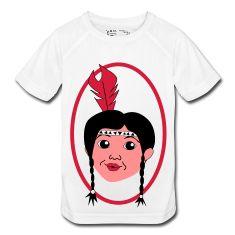 Squaw Indianerin kleiner T-Shirts