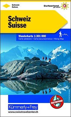 Schweiz 1:301 000 ohne Free Map on Smartphone - swisstravelcenter.ch | Hallwag…