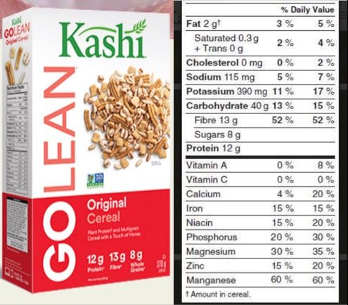 For 1 Cup Of Go Lean Cereal You Get A Wapping 10 4g Of Your Daily Fiber I Eat This Daily And You Get Lo High Fiber Foods 1600 Calorie Diet 1200 Calorie Diet