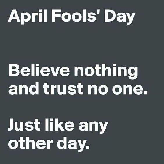 April Fool's Day .:
