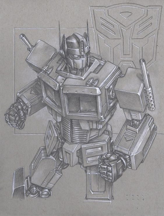 Transformers - Optimus Prime by Mike Choi *