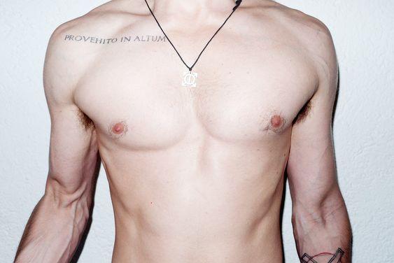 Resultado de imagem para jared leto tattoo provehito in altum