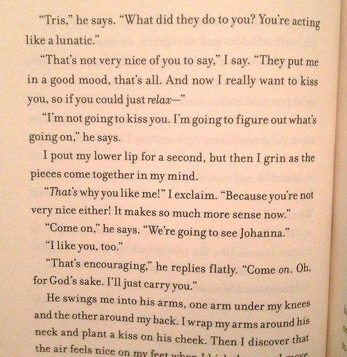 Pin By Melissa P Duarte On Favorite Ya Book Quotes Divergent Book Divergent Quotes Divergent Trilogy