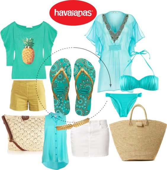 """""""Create #instantjoy with Havaianas"""" by ladyloty ❤ liked on Polyvore"""
