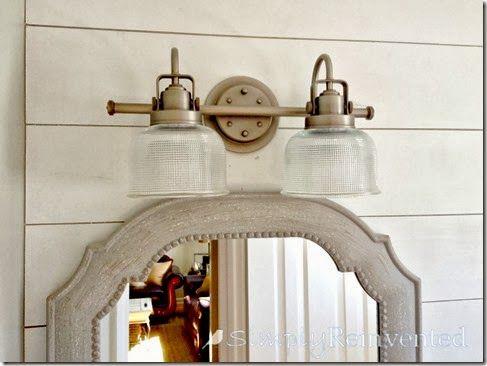 Farmhouse light from home depot upstairs bathroom - Farmhouse bathroom vanity lights ...