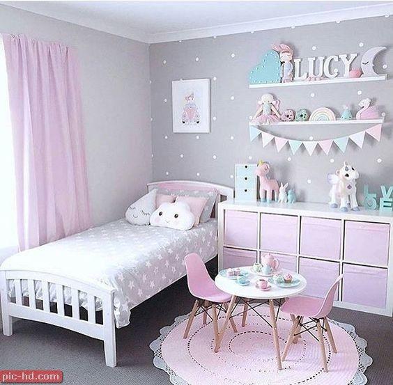 حجرة اطفال صور غرف نوم اطفال حديثة تصميمات حجرات نوم للأطفال Toddler Bedrooms Toddler Bedroom Girl Girls Bedroom