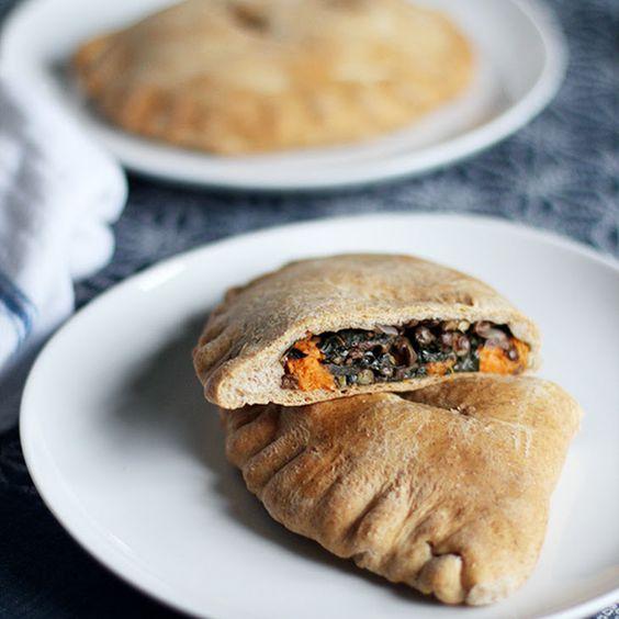 Spiced Lentil, Sweet Potato & Kale Whole Wheat Pockets Recipe ...